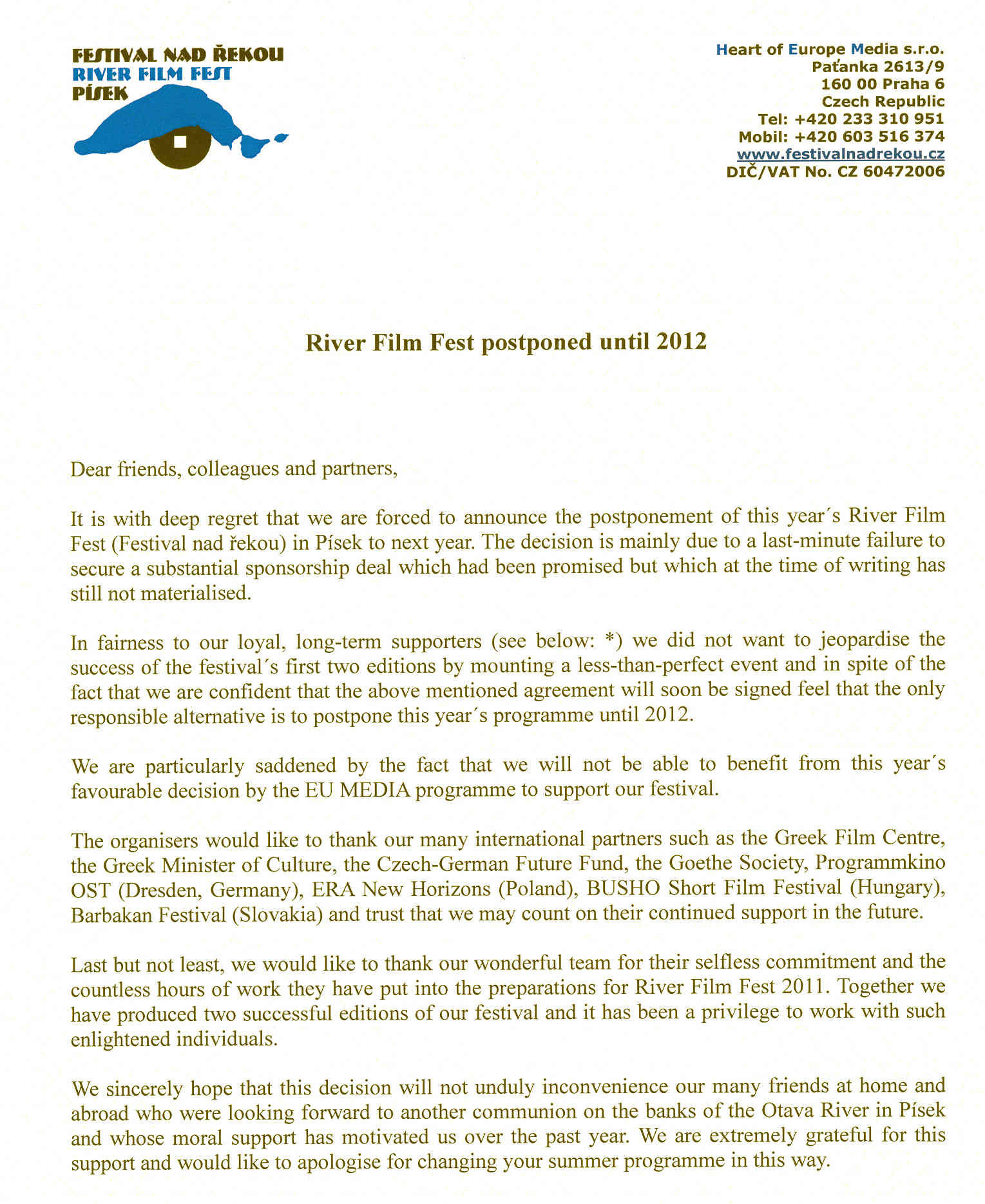 River film fest 2010 news rff letter 1 stopboris Choice Image